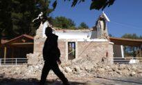 Strong Quake Hits Greek Island of Crete; 1 Dead, 20 Injured