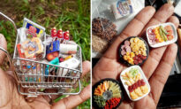 Florida Mom Crafts Miniature Clay Foods on an Incredibly Small Scale: 'Do What You Love!'