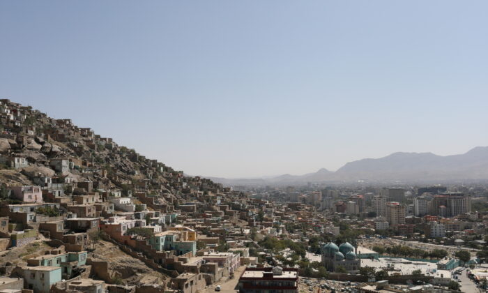 A general view of the city of Kabul, Afghanistan, on Sept. 5, 2021. (WANA via Reuters)