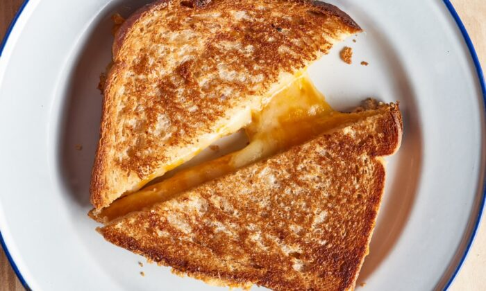 The air fryer is the answer to always crispy, always gooey grilled cheese sandwiches. (Joe Lingeman/TNS)