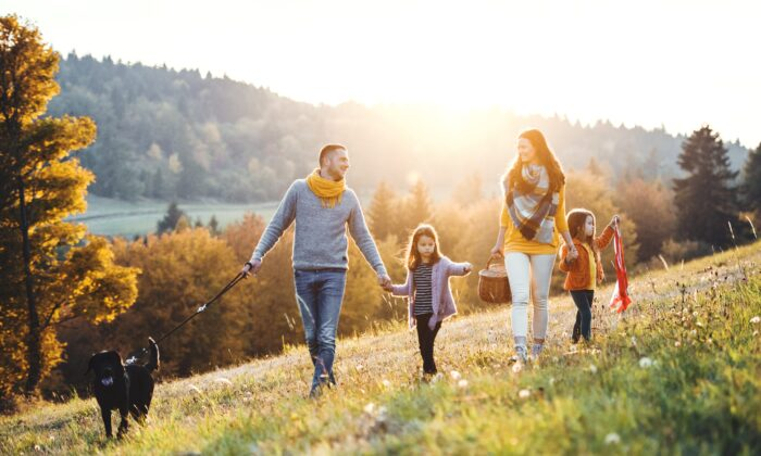 This is a good time for gentle exercise, such as a walk in the early morning. (Halfpoint/Shutterstock)