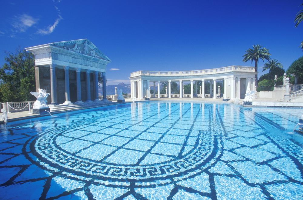 Neptune,Pool,At,Hearst,Castle,,San,Simeon,,Central,Coast,,California
