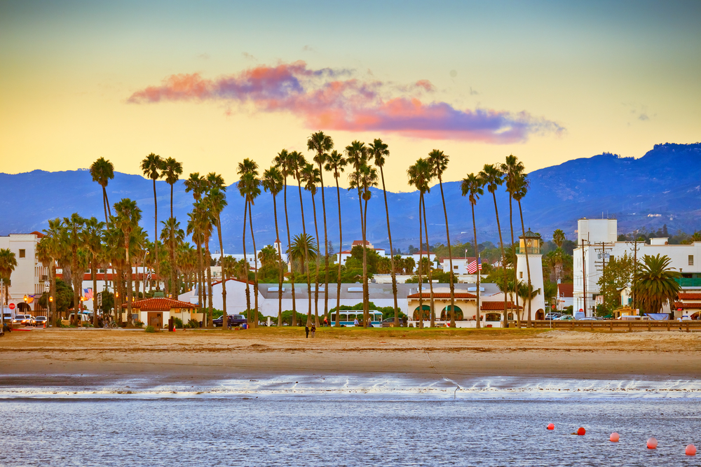 View,On,Santa,Barbara,From,The,Pier