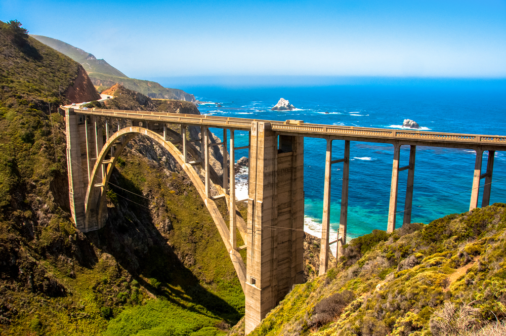 Bixby,Bridge,In,Big,Sur,,California