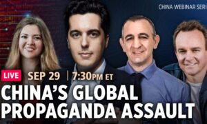 Live Q&A Webinar: China's Information War to Subvert the US