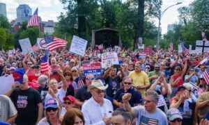 Boston Rally Protests Against Vaccine Mandate thumbnail