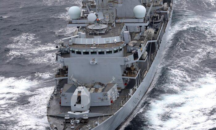 Undated photo of HMS Richmond. (Royal Navy/Handout via PA)