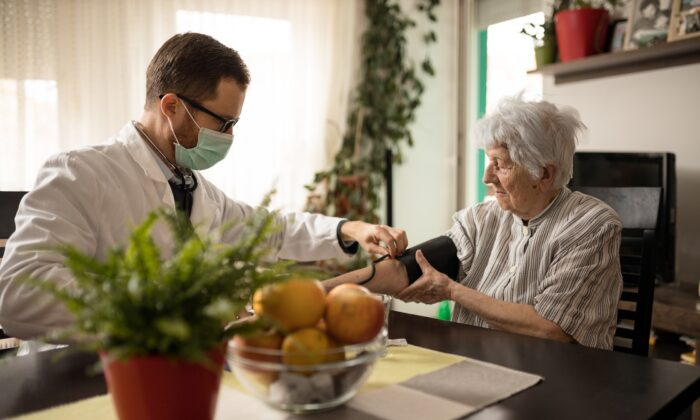 It's estimated that nearly half of all American adults have hypertension. (Gligatron/Shutterstock)