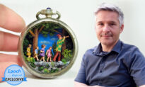 'Art Can Affect People': Greek Artist's Miniature Worlds Inspire Beauty and Kindness