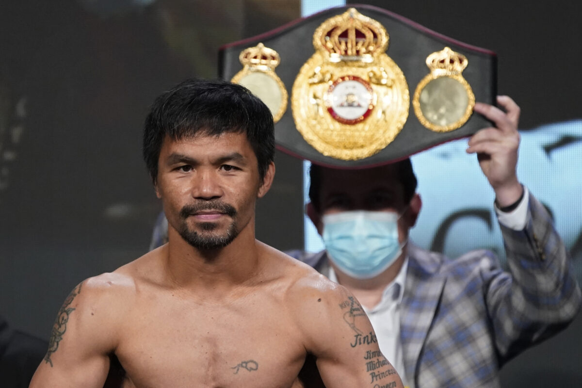 Pacquiao in the Philippines