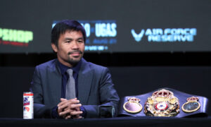 Boxing Great Manny Pacquiao Announces Retirement to Focus on Philippine Presidency