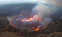 Hawaii's Kilauea Volcano Erupting in 'Full Swing' as Lava Fountains Form in Park