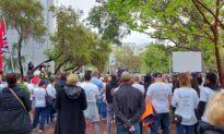 West Australians March Against No Jab, No Job Mandate For Health Staff