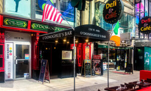 NYC Restaurateurs: Business Down 40 to 60 Percent Due to Vaccine Mandate
