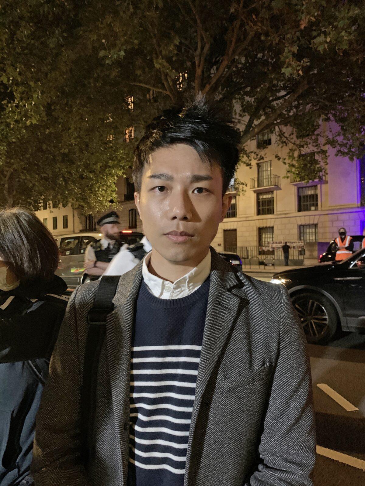 Founder of 'Hong Kong Liberty' Mr. Finn Lau