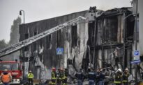 Plane Crashes Into Building Near Milan; All 8 Aboard Die