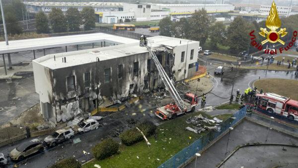 Italy plane crash