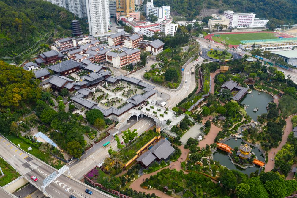 Diamond,Hill,,Hong,Kong,11,April,2019:,Aerial,View,Of