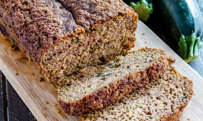 Brown butter and a crusty sugar topping elevate this classic quick bread. (Teri Virbickis/shutterstock)