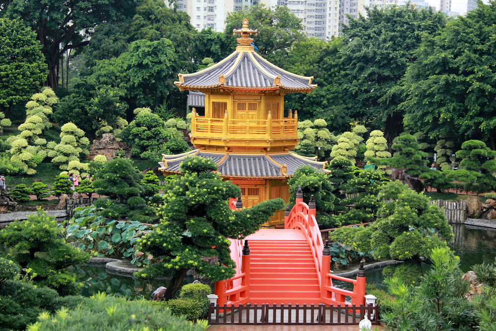 Chi,Lin,Nunnery,The,Buddhist,Temple,Complex,Located,In,Hong