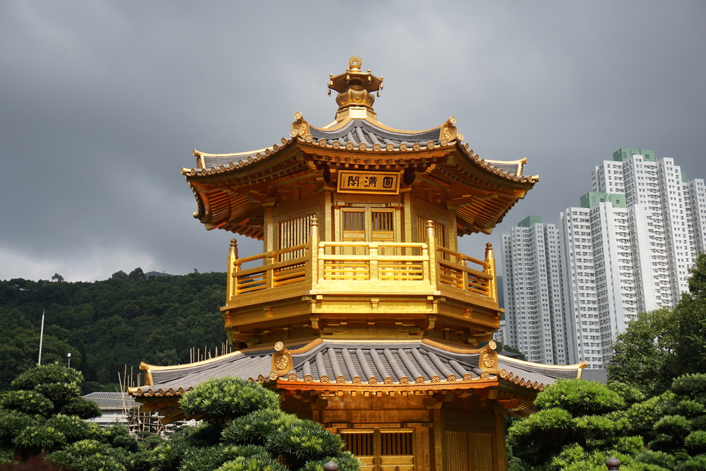 The,Golden,Pavilion,Temple,Inside,The,Chi,Lin,Nunnery,In