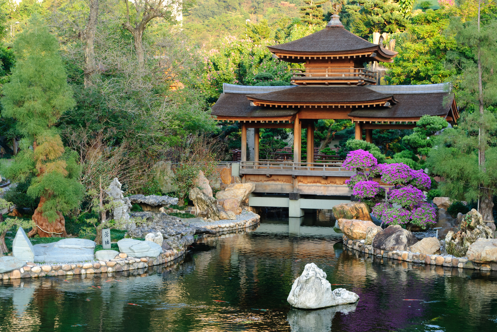 The,Oriental,Pavilion,Of,Absolute,Perfection,In,Nan,Lian,Garden,