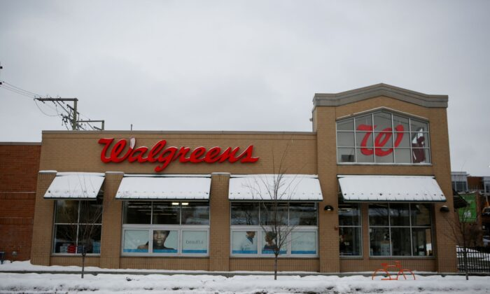 A Walgreens store is seen in Chicago, Ill., on Feb. 11, 2021. (Eileen T. Meslar/Reuters)