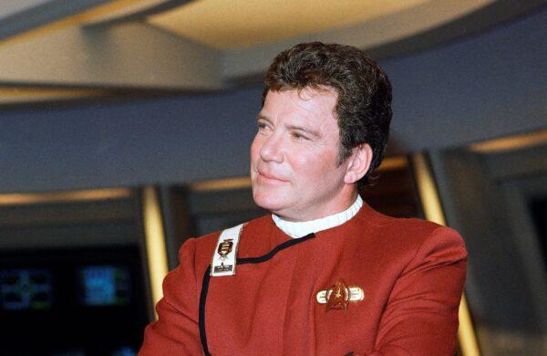 William Shatner portrays Capt. James T. Kirk