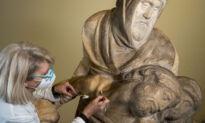 Did Michelangelo Destroy His Sculpture 'The Deposition'?