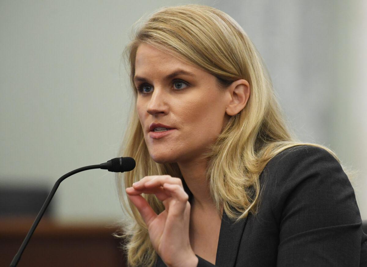 Facebook whistleblower Frances Haugen