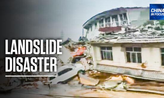 Heavy Rain Triggers Landslides, Destroys Buildings