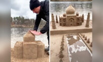 Talented Artist Creates Incredibly Detailed Sand Sculptures Across the World