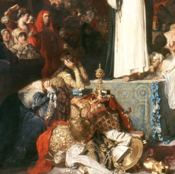 Savonarola-preaching-against-prodigality-detail