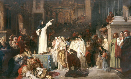Confronting Our Vanities: 'Savonarola Preaching Against Prodigality'