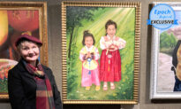 'The Evil CCP Will Crumble': Polish-Born Artist Depicts Children Persecuted in China