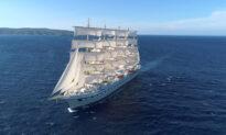 Sailing on the Golden Horizon