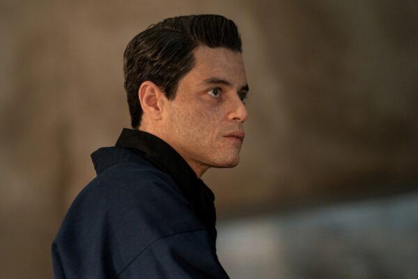 Rami Malek as the villain Safin