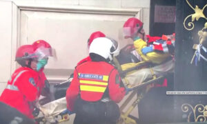 1 Dead, Others Trapped After Hong Kong Scaffolding Collapses
