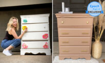 Photos: Stay-at-Home Mom Upcycles Old Furniture Into Creations Worth Hundreds of Dollars