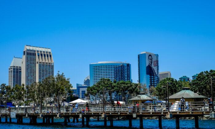 San Diego, Calif., on July 7, 2016. (John Fredricks/The Epoch Times)
