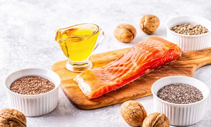 Omega-3s are essential to a healthy brain and body. (Tatiana Bralnina/Shutterstock)