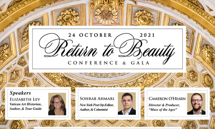 """""""Return to Beauty"""" invites the general public to join this conference in Chicago."""