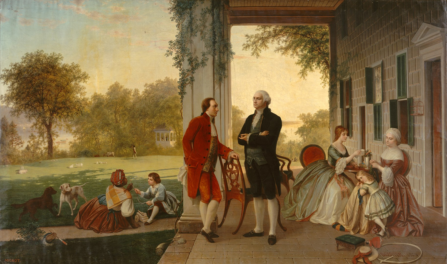 1826px-Washington_and_Lafayette_at_Mount_Vernon,_1784_by_Rossiter_and_Mignot,_1859