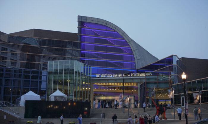 Kentucky Center, in Louisville, Kentucky, in October, 2021. (Lin Huixin/The Epoch Times)