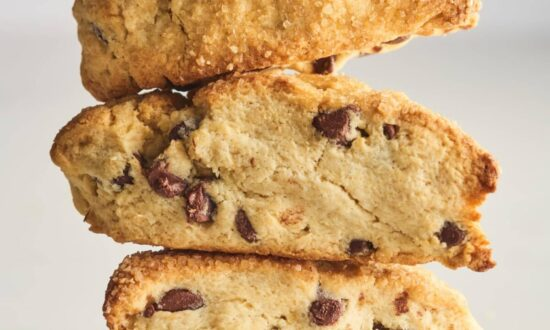 Recipe: These Chocolate Chip Scones Will Satisfy Your Cookie Cravings