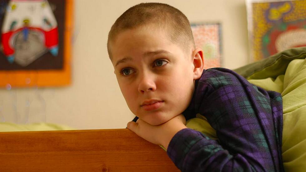 boy on bunk bed in Boyhood