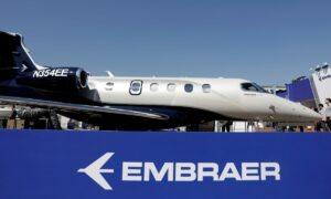 Brazil's Embraer Sells 100 Aircraft to NetJets, Shares Rise