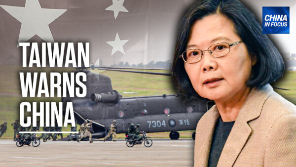 Taiwan: We Won't Be Forced to Bow to China