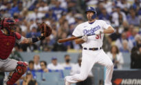 Dodgers Ace Max Scherzer Hot on the Mound, Not at the Plate