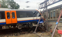 Train Crashes Through Buffers at Busy London Station